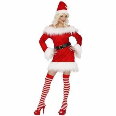 Sexy dames kerstjurkje fluweel