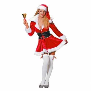 Sexy fluwelen kerstjurkje