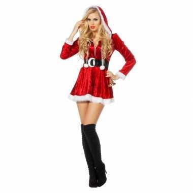 Sexy kerstfeest jurkje dames