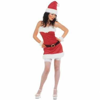 Sexy kerstjurkje flanel dames