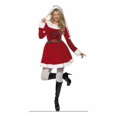 Sexy kerstjurkje rood dames
