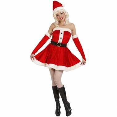 Sexy kort dames kerstjurkje