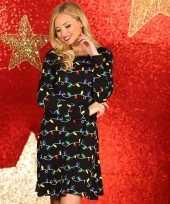Sexy foute kerstprint jurkjeen dames
